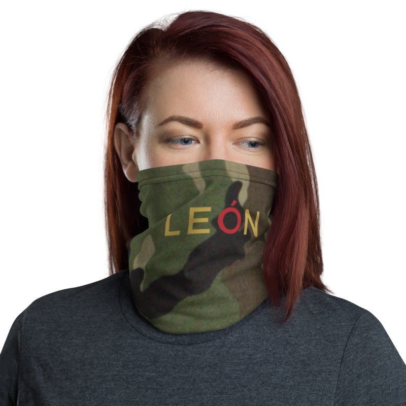 Image of León Face Mask -Camo (Gaiter)