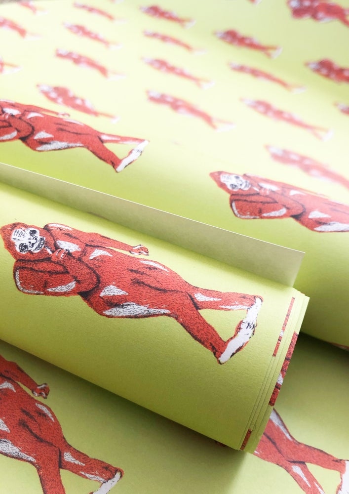 Image of Bigfoot Wrapping Paper