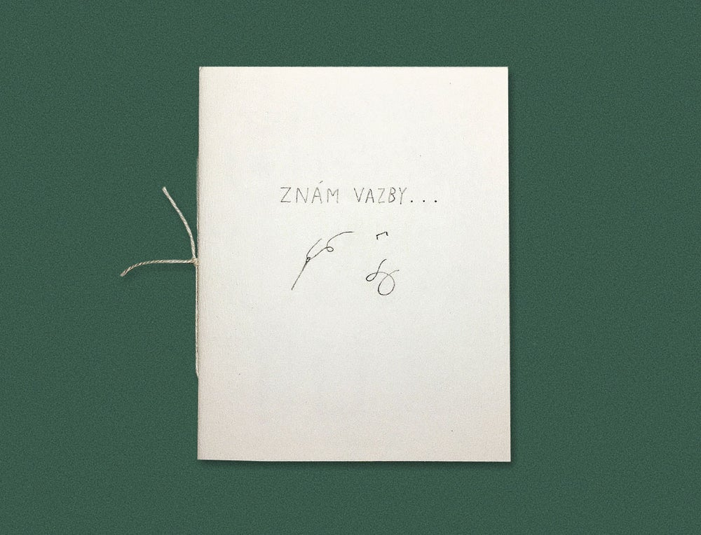 Image of ZNÁM VAZBY / I KNOW THE BOOKBINDINGS