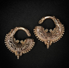 Solid Brass Ornate Breaded Weights By Evolve