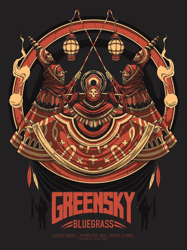 Image of Greensky Bluegrass Halloween Poster