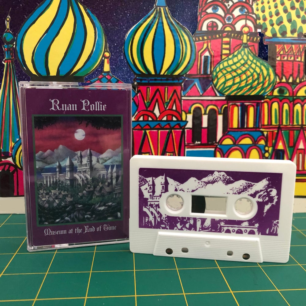"""""""Museum at the End of Time"""" Cassette by Ryan Pollie"""