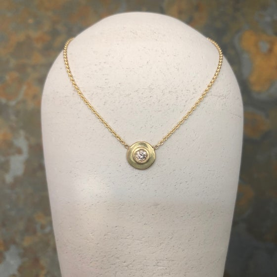 Image of Single Diamond Necklace