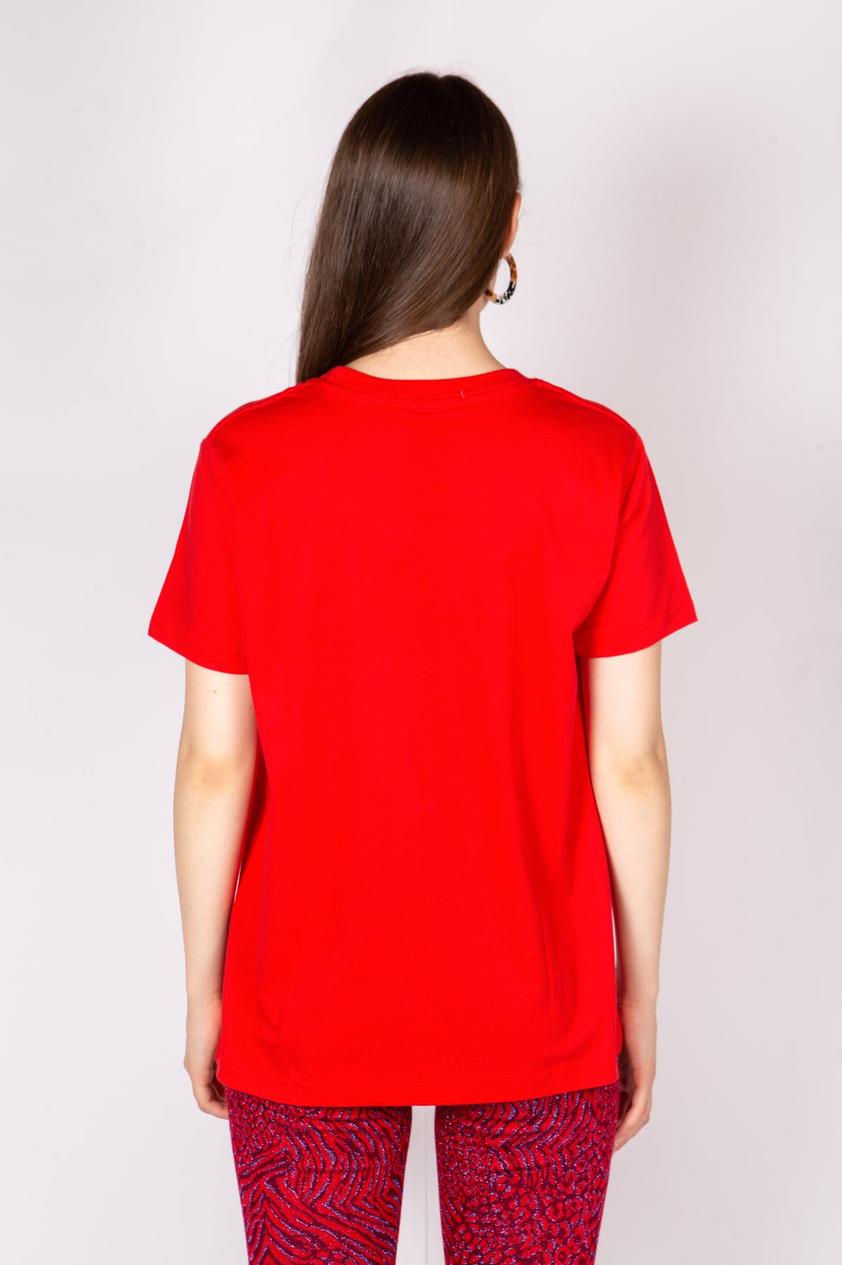 Image of T-SHIRT LUCE STUDIO ROSSO €69 - 50%