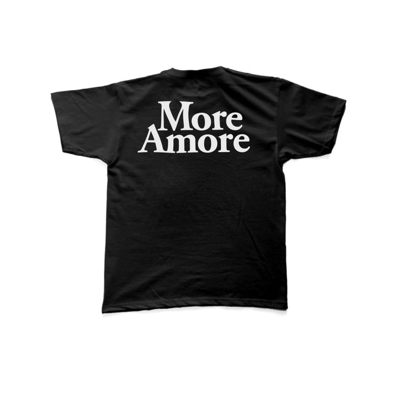 Image of More Amore - T-Shirt - Black