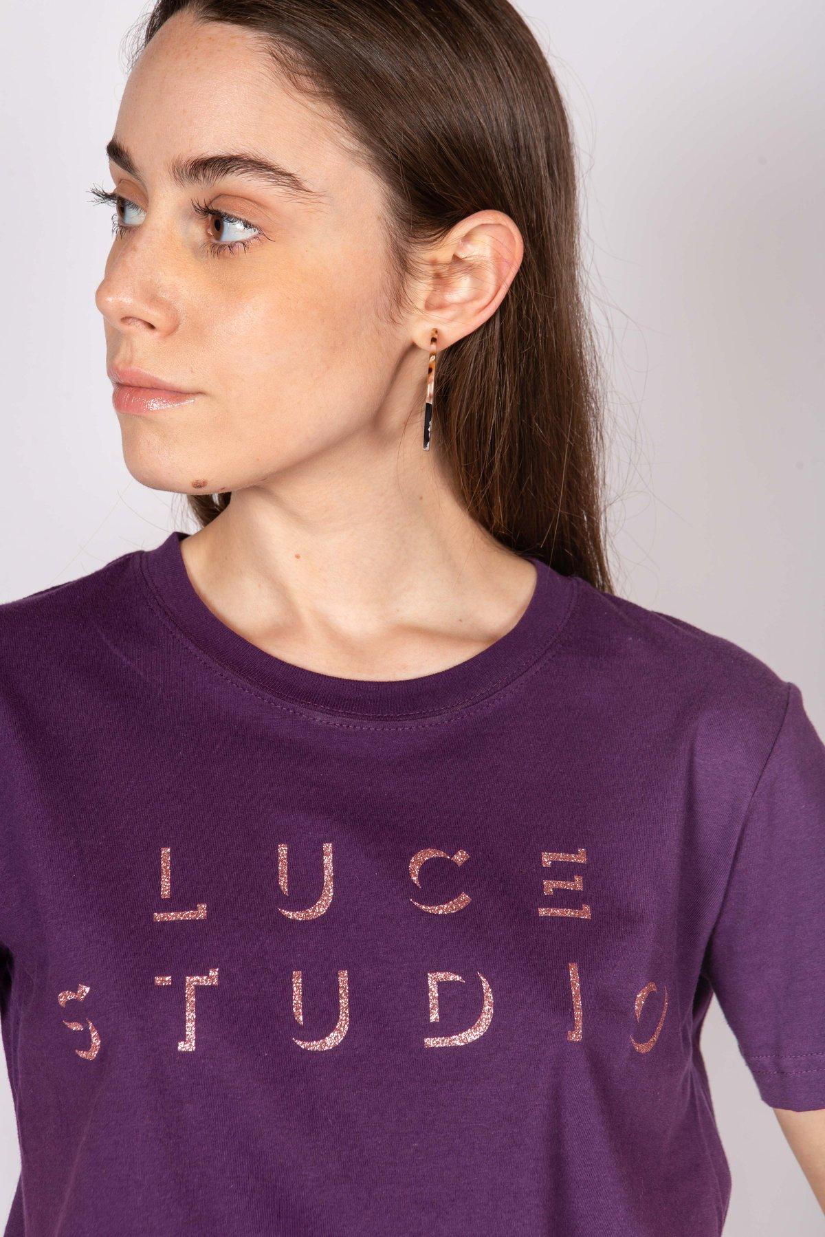 Image of T-SHIRT LUCE STUDIO VIOLA €69 - 50%