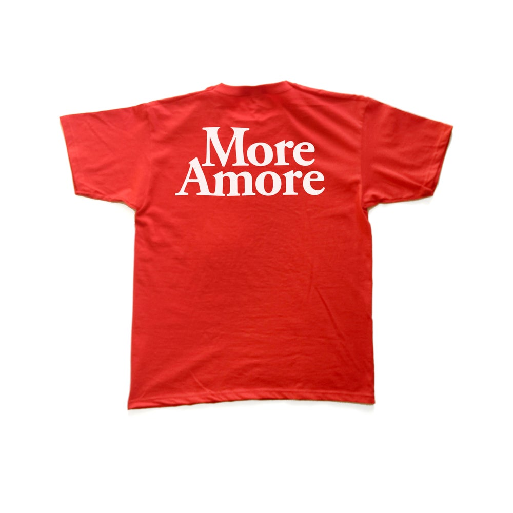 Image of More Amore - T-Shirt - Red