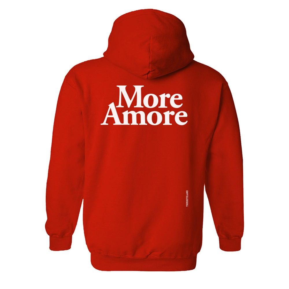 Image of More Amore - Hoodie - Red