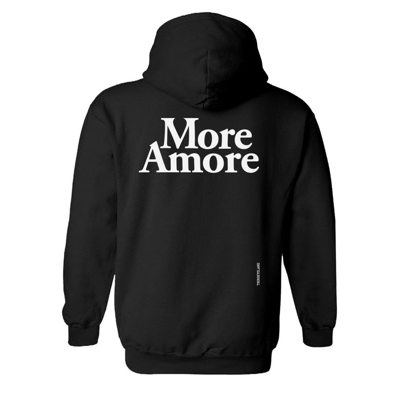 Image of More Amore - Hoodie - Black