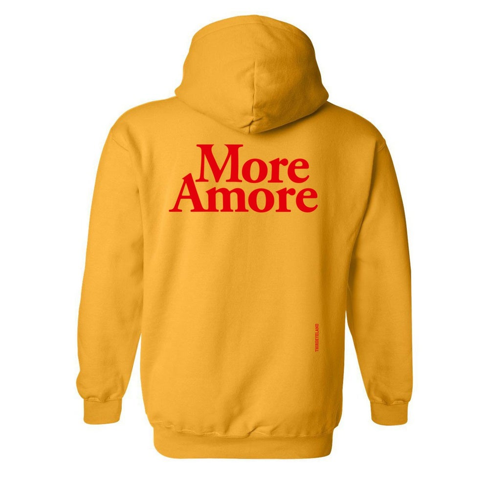 Image of More Amore - Hoodie - Gold