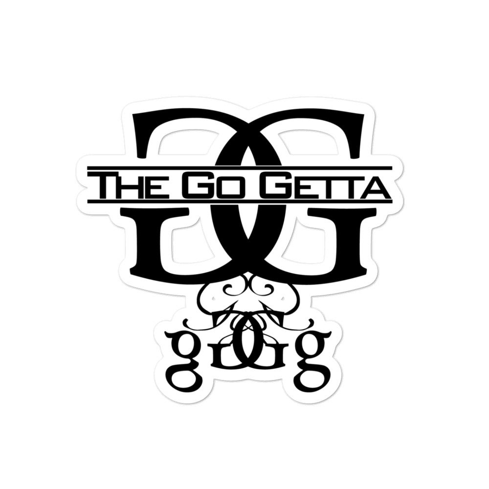 Image of The Go Getta Logo stickers