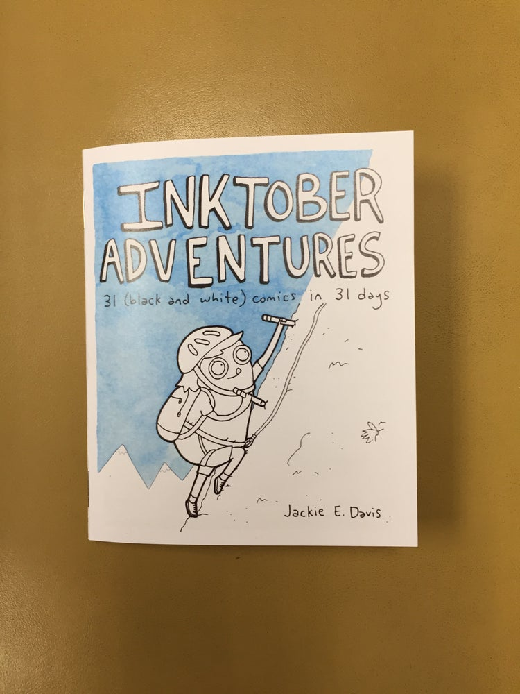 "Image of ""Inktober Adventures"" Zine"