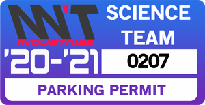 Image of Science Team Parking Permit