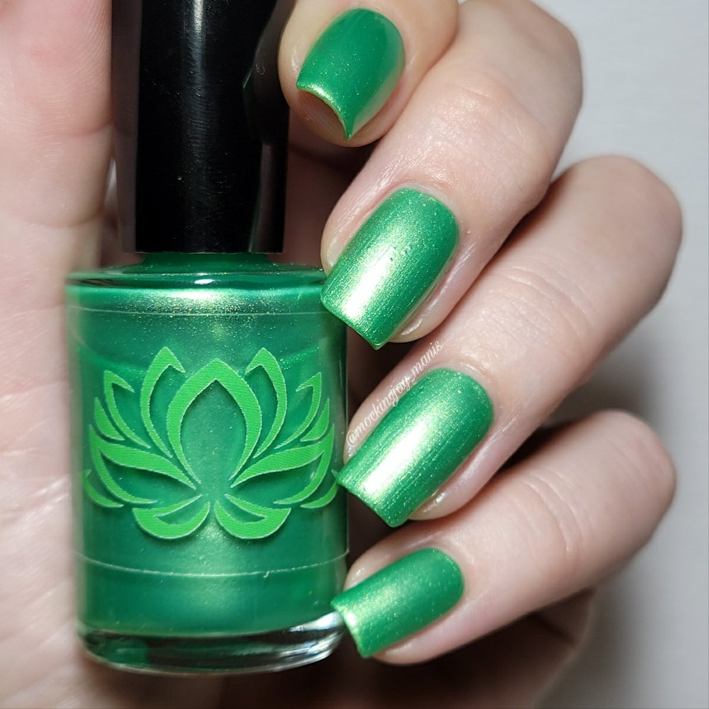 Image of  Piccolo Green Nail Polish