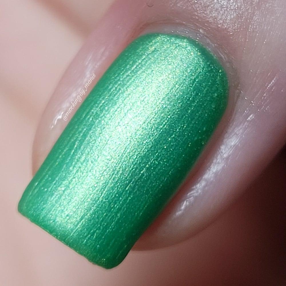Piccolo Green Nail Polish