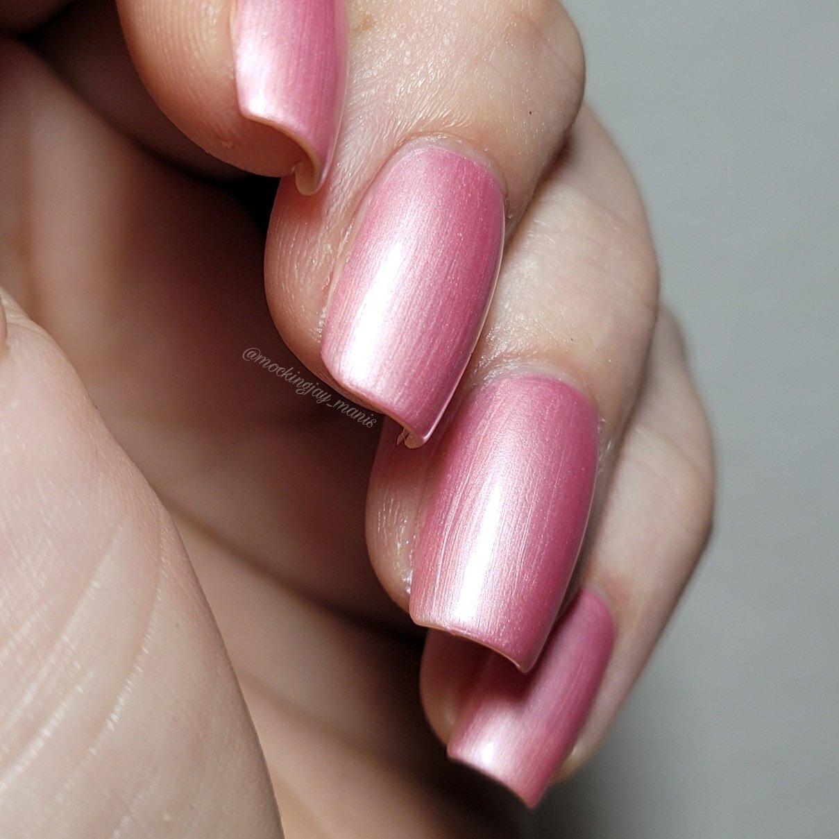 Image of Majin Buu Pink Nail Polish