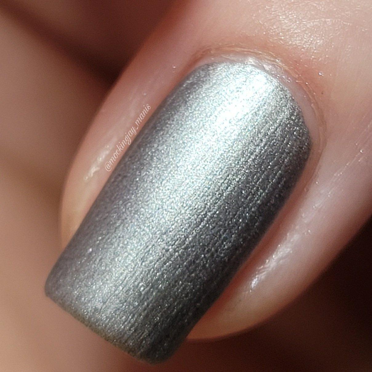 Image of Ultra Instinct Silver Nail Polish