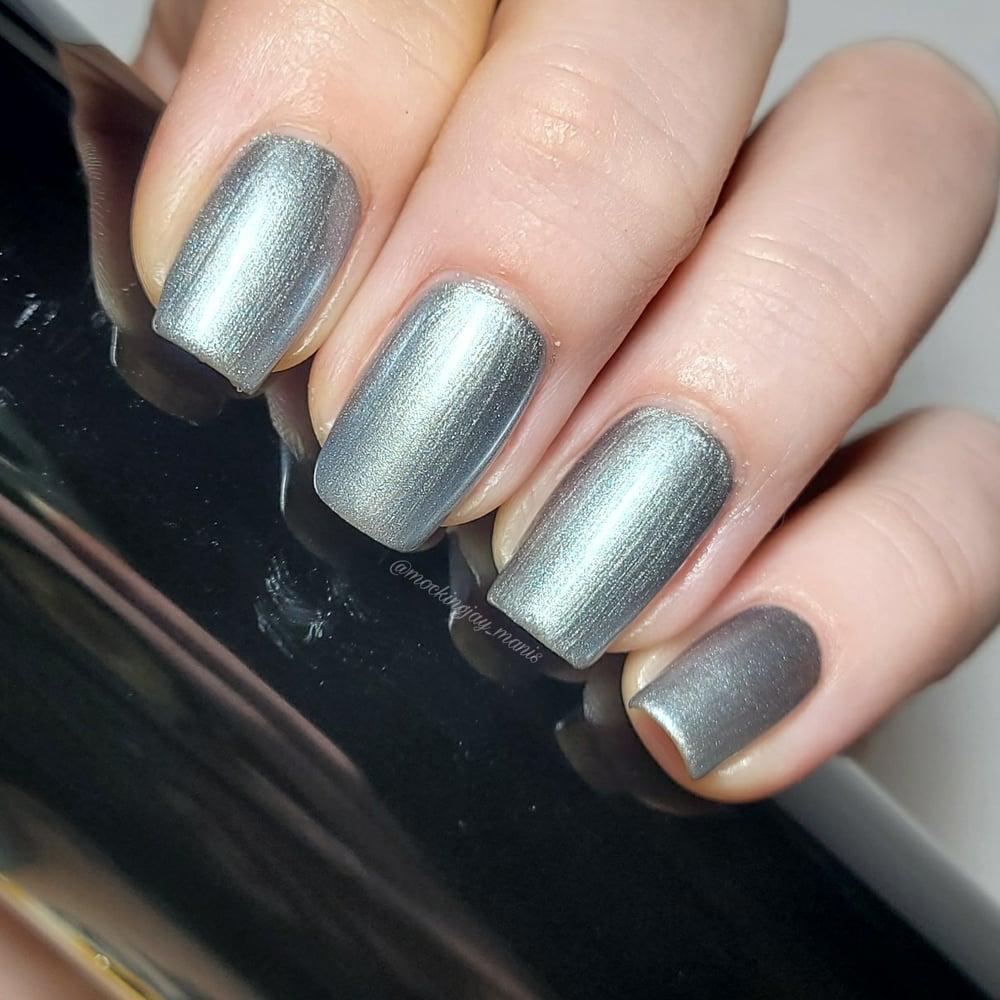 Ultra Instinct Silver Nail Polish