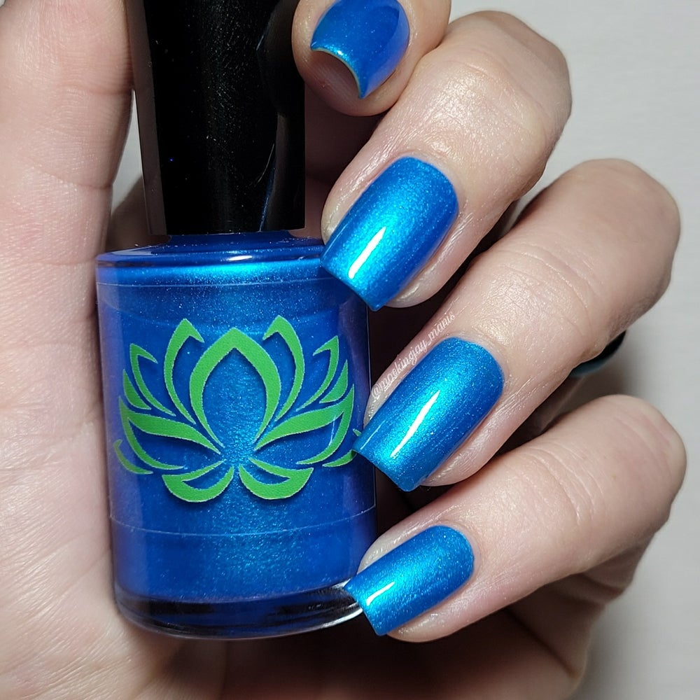 Image of Vegeta Blue Nail Polish