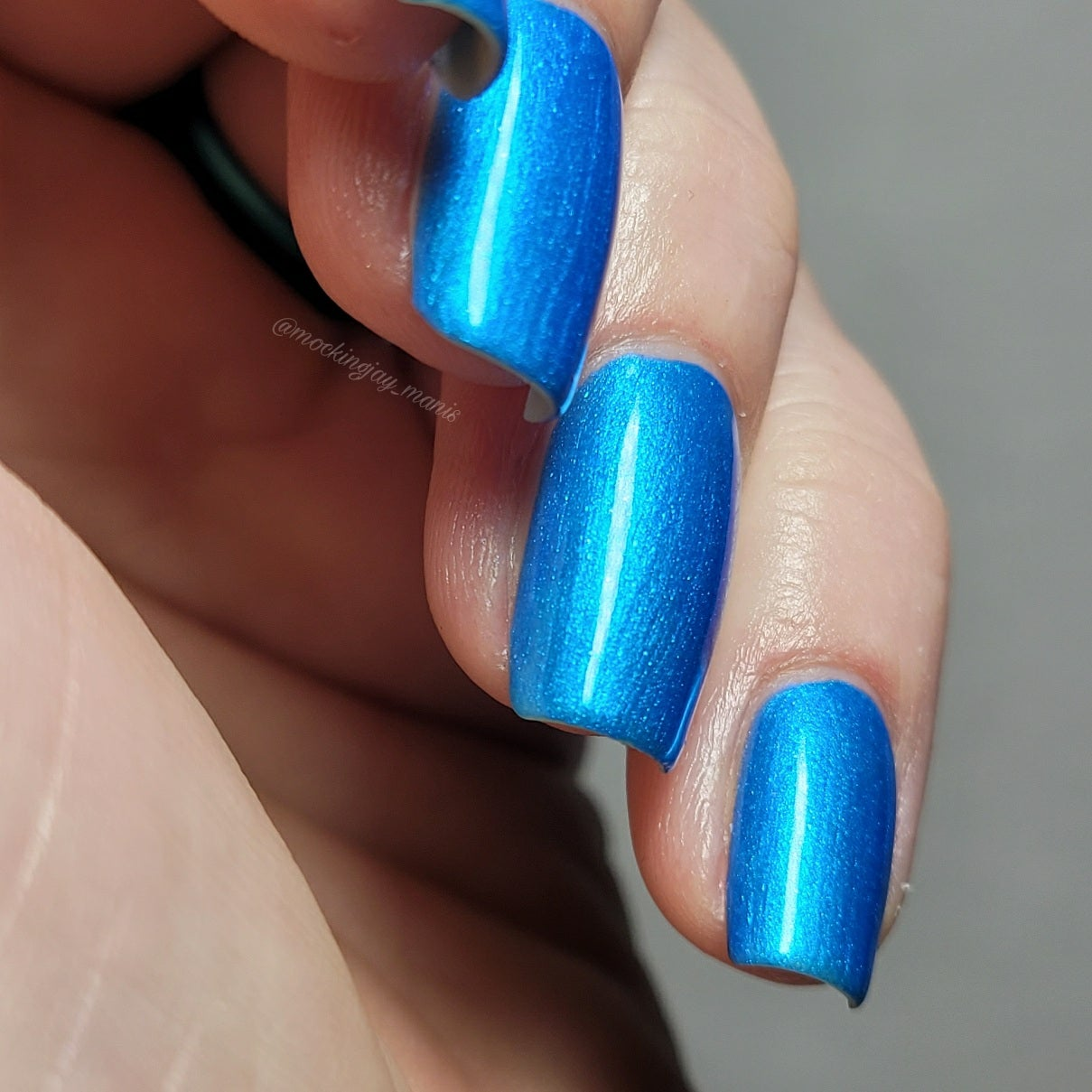 Image of Vegeta Blue Nail Polish