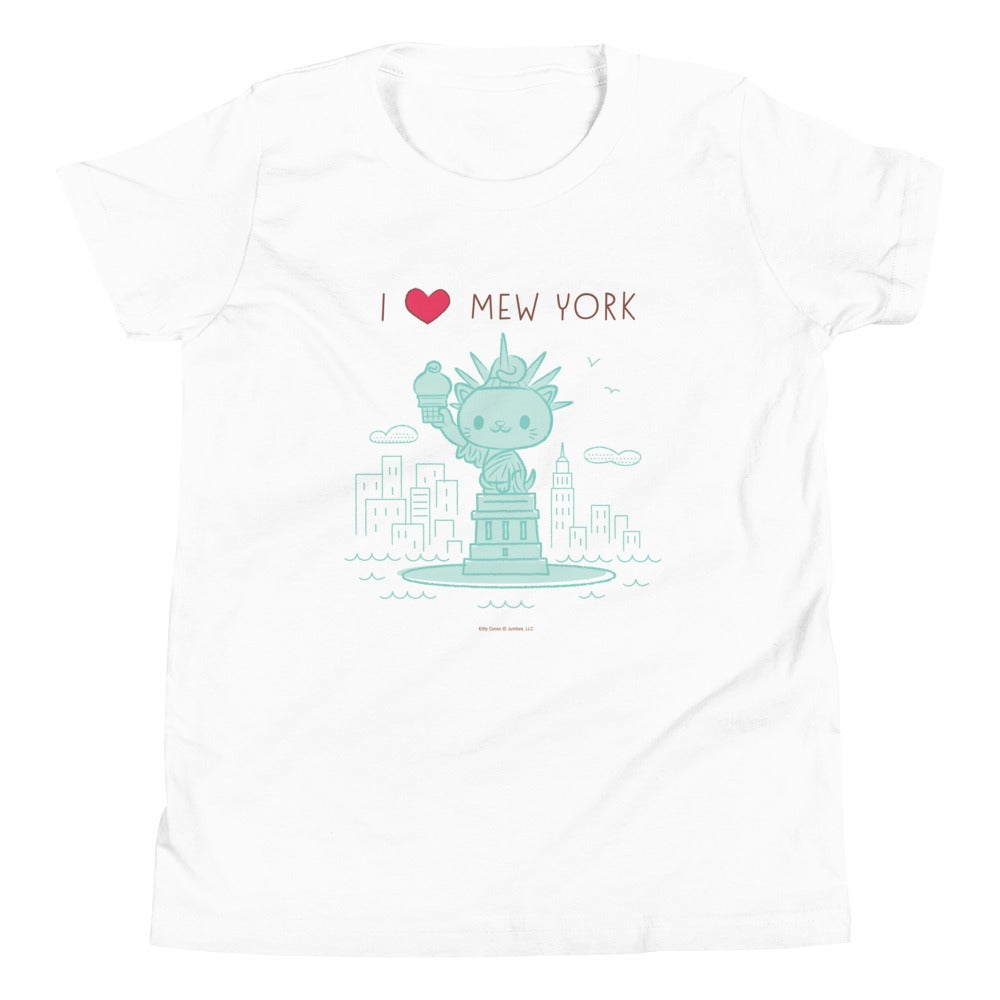 Image of I HEART Mew York - Youth Short Sleeve T-Shirt