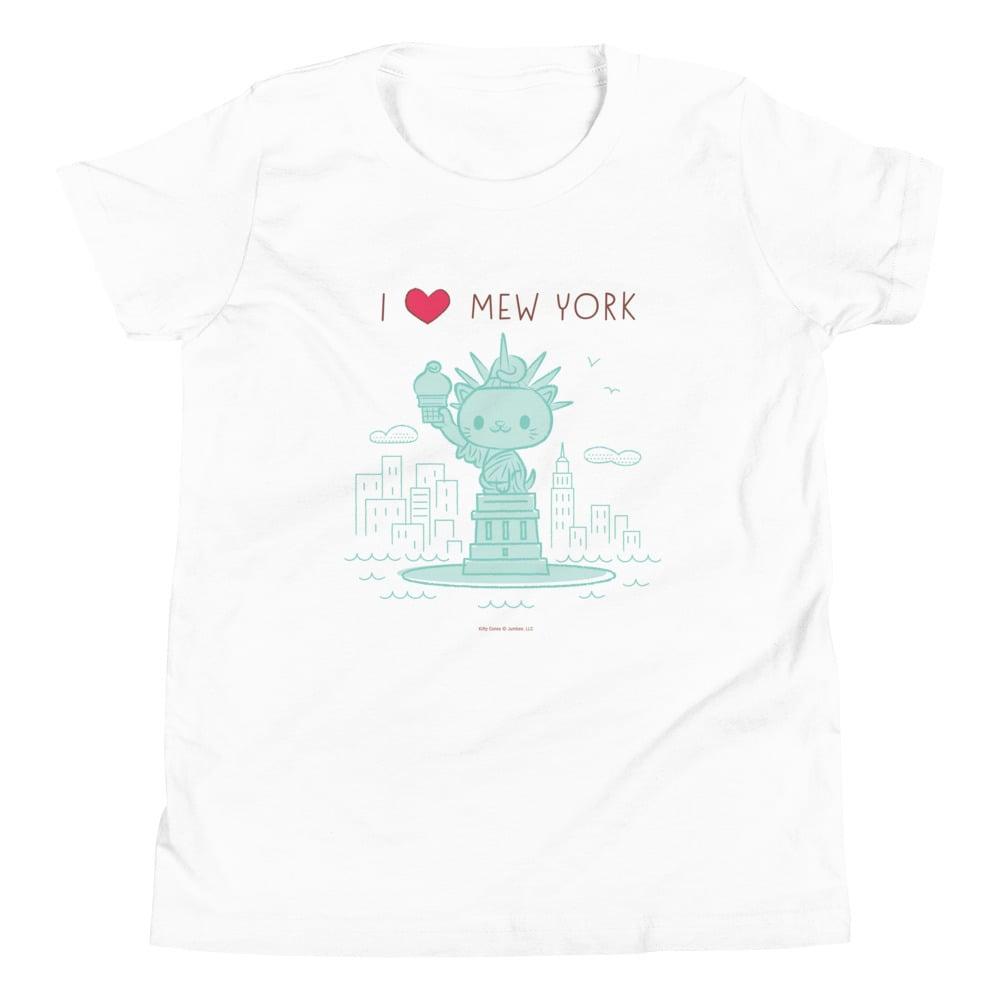 Image of I HEART Mew York - Youth Short Sleeve T-Shirt