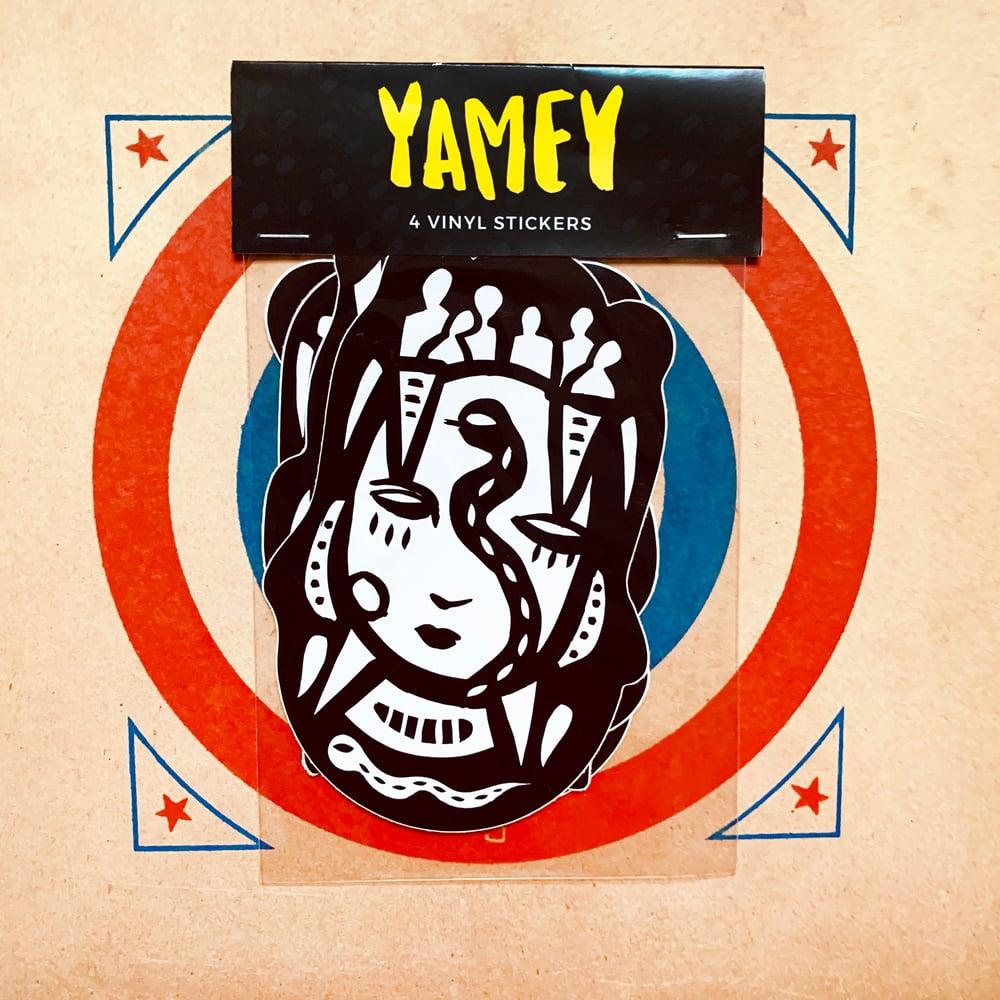 YAMKID STICKER PACK (SET OF 4 STICKERS)