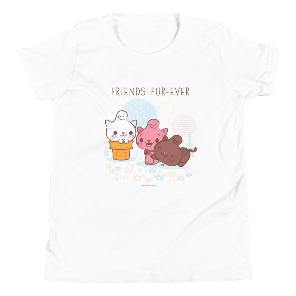 Image of Friends Fur-Ever - Youth Short Sleeve T-Shirt