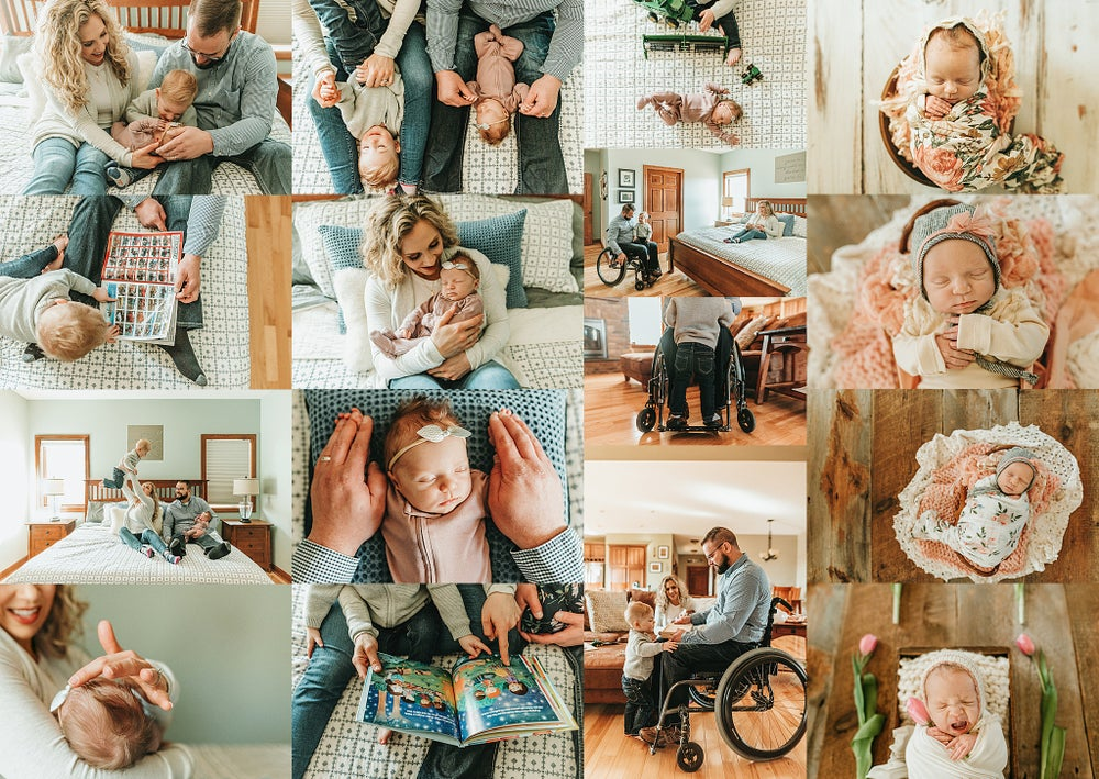 Image of 2021 In-Home Newborn Session- ($700 Total Investment)