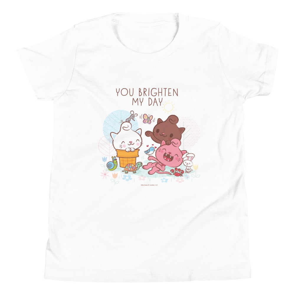 Image of You Brighten My Day - Youth Short Sleeve T-Shirt