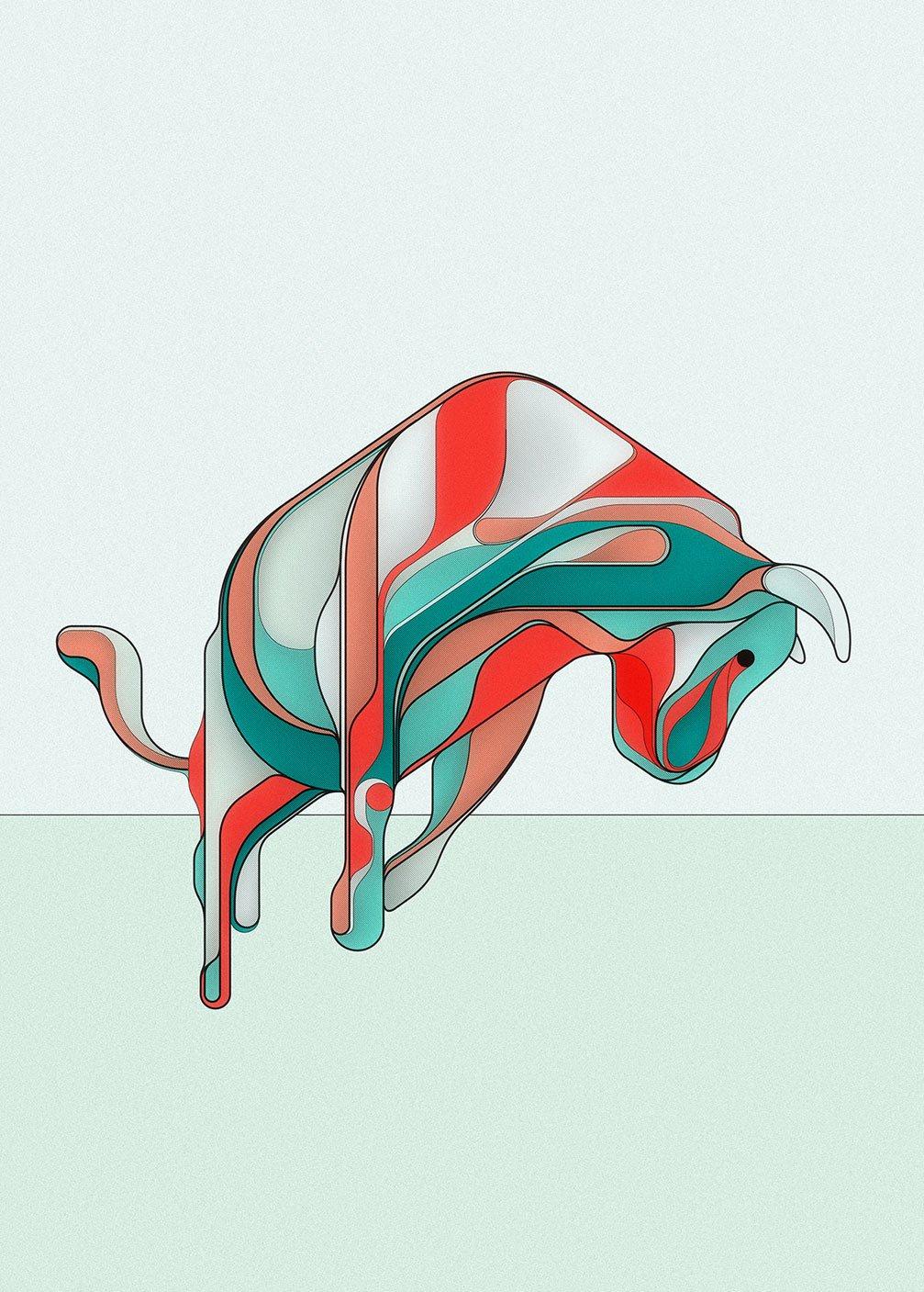Image of Bull II