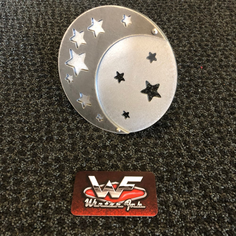 Image of Moon and Stars - Hitch Cover - Two Layers