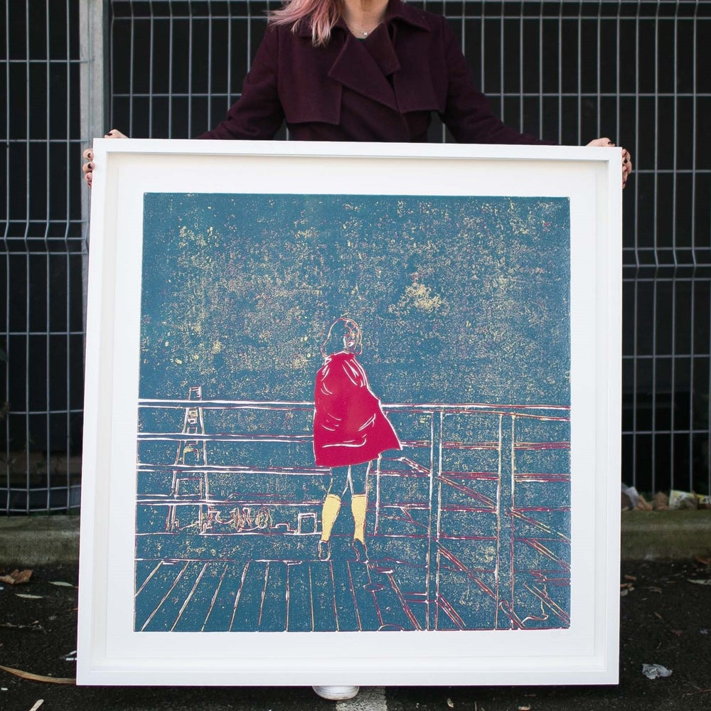 Image of MEGA On The Run Giclée Reproduction