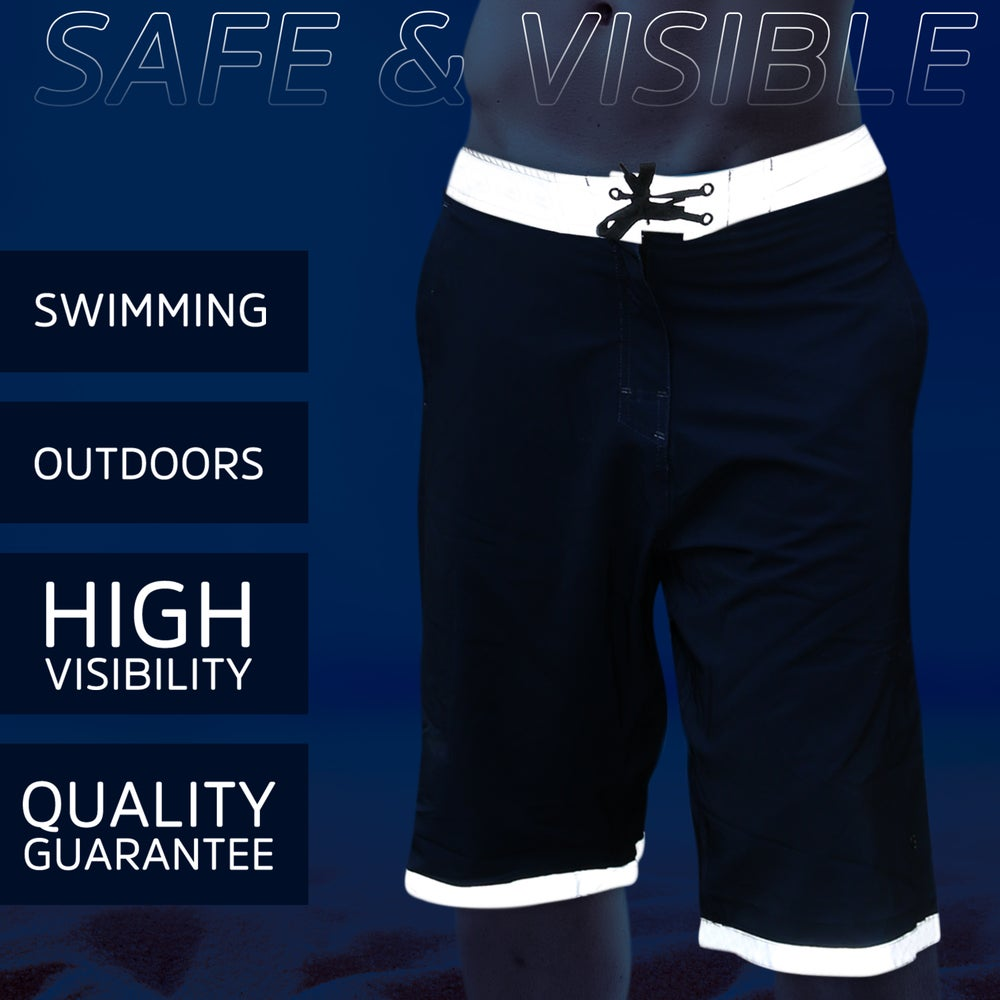 Image of Homie Gear HIGH-VISIBILITY CLASS 3 Water Proof Tall Board Shorts