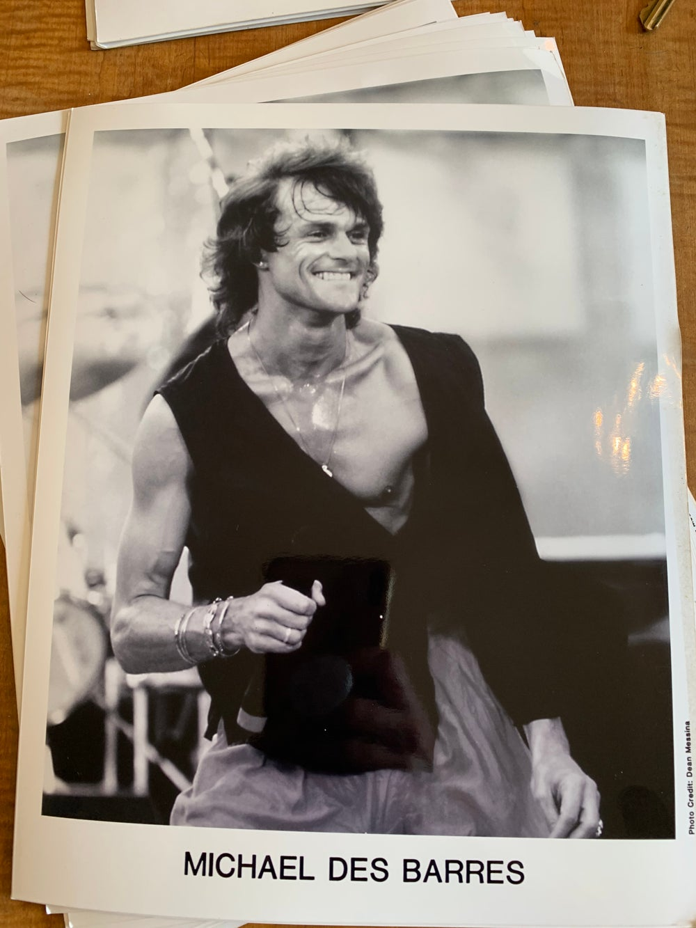 Image of Autographed Live Aid photo