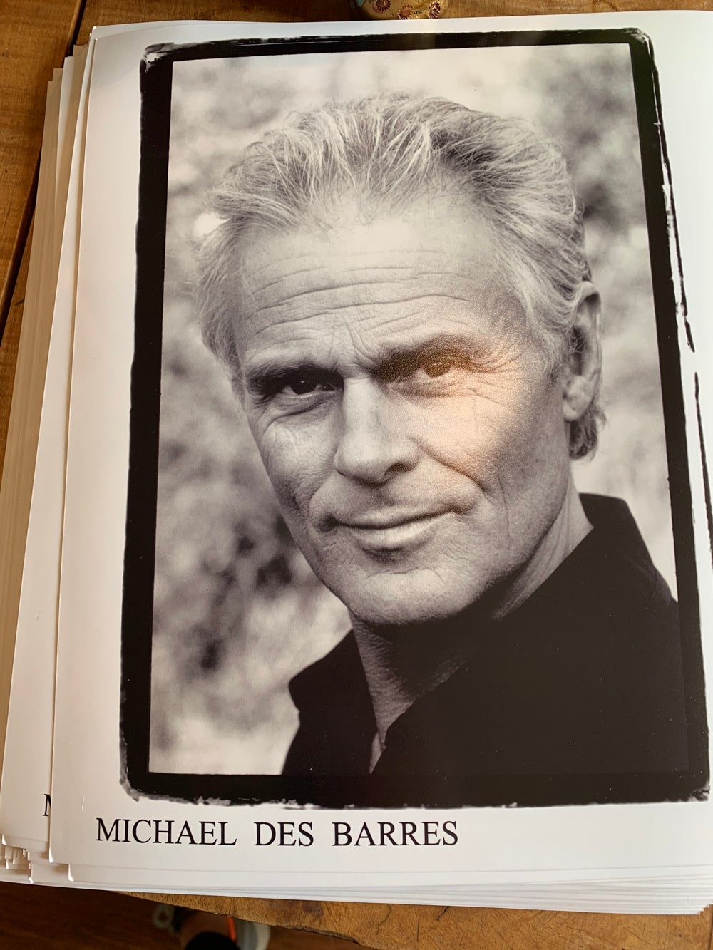 Image of Michael Des Barres Signed Photo