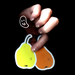 Image of Pear Pear 2-Pack of Stickers
