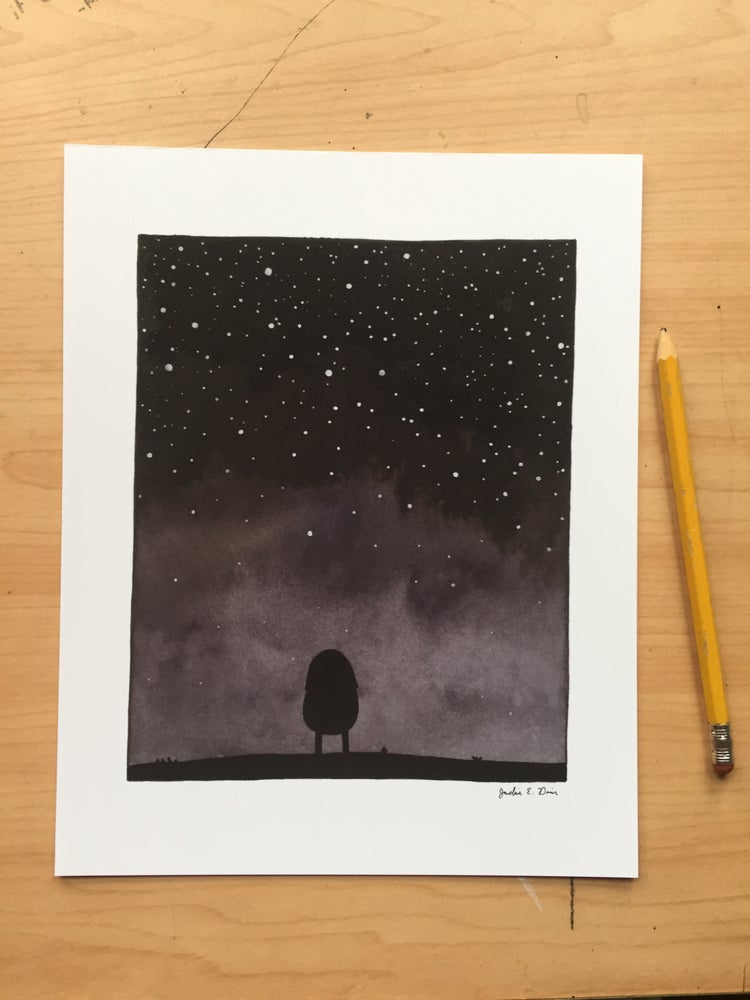 "Image of ""Star Gazer"" Print"