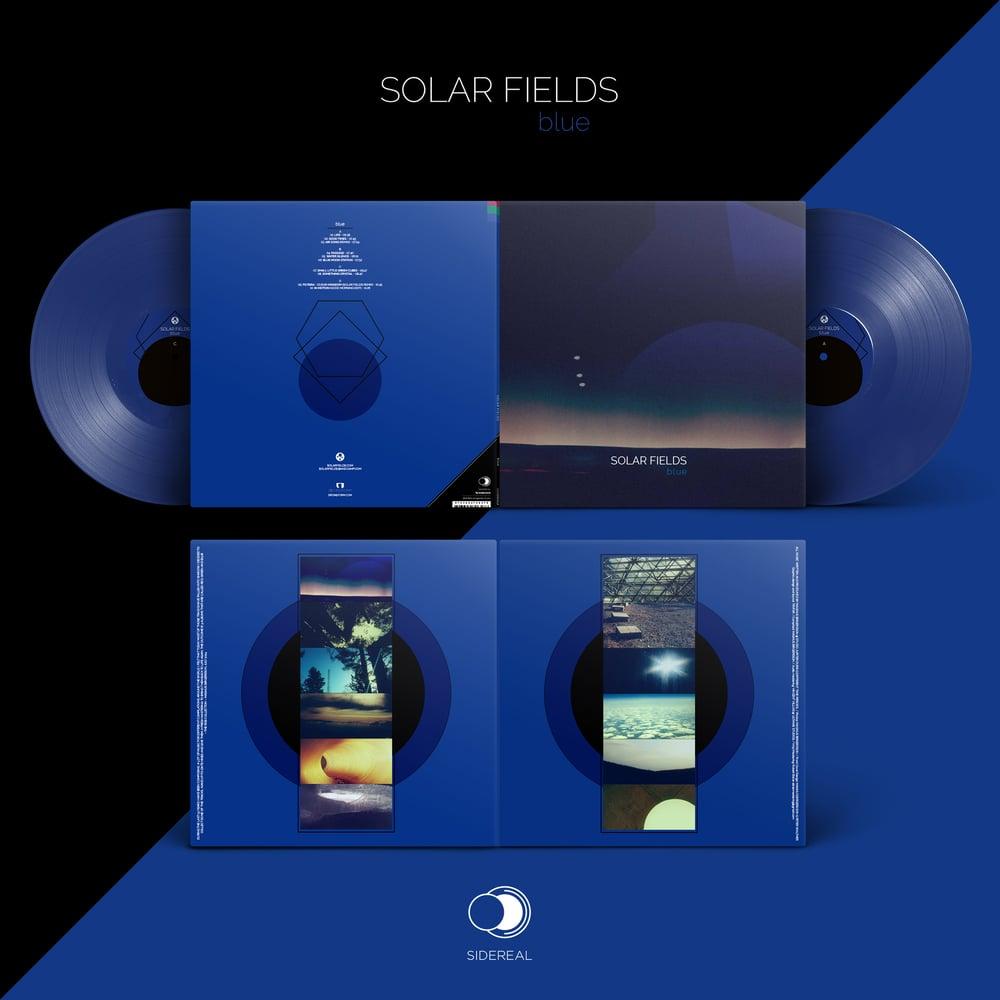 Image of Solar Fields 'Blu' 2LP (solid blu color vinyl)