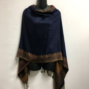 Image of Reversible Poncho Top / Shawl - Wear 6 Ways
