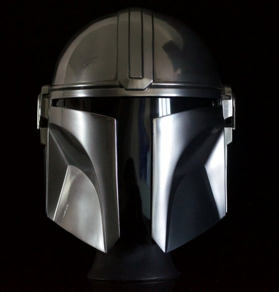 Image of Mandalorian wearable helmet