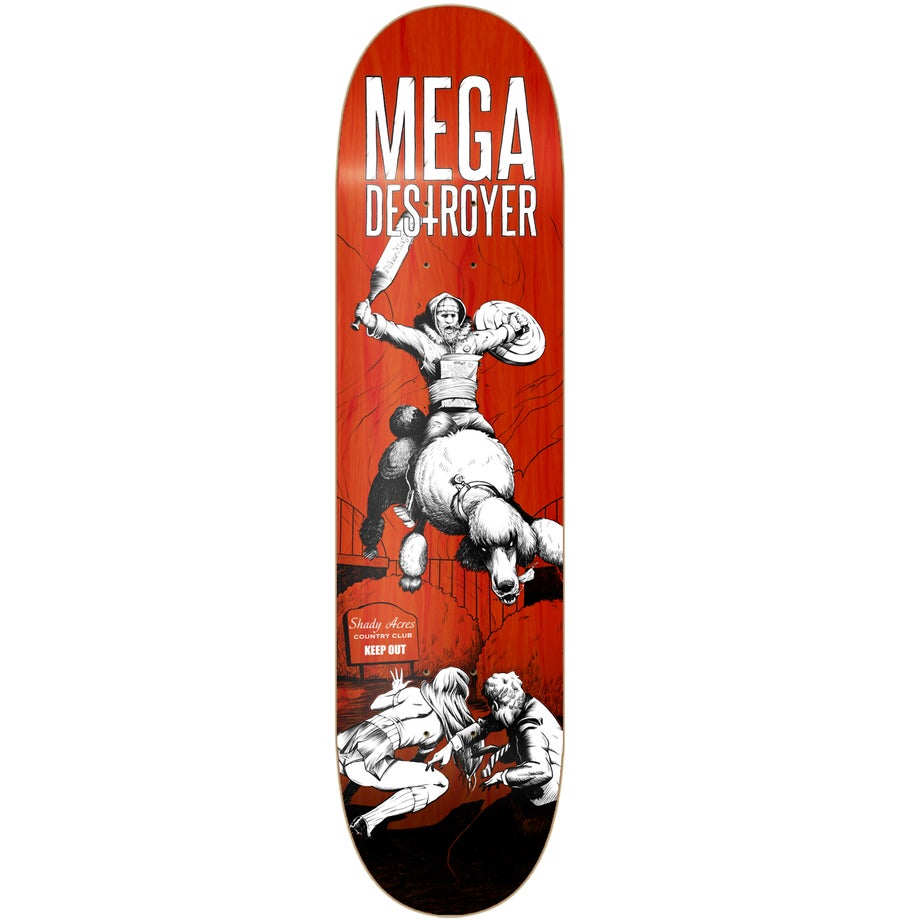 Image of HELLOGGS skateboard deck 8.25""