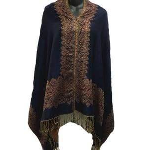 Image of Reversible Poncho Top / Shawl - Wear 6 Ways
