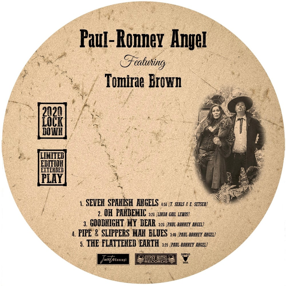 Seven Spanish Angels feat. Tomirae Brown, Limited Edition EP