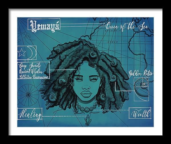 """Image of """"Yemaya"""" Open Edition Prints"""