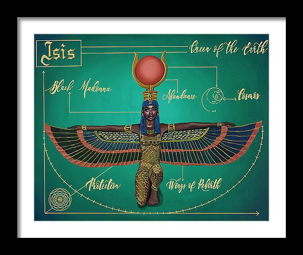 """Image of """"Goddess Isis"""" Open Edition Prints"""