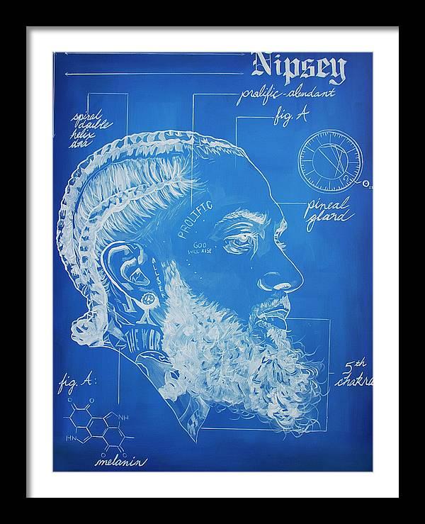 "Image of ""Nipsey Blueprint"" Open Edition Prints"