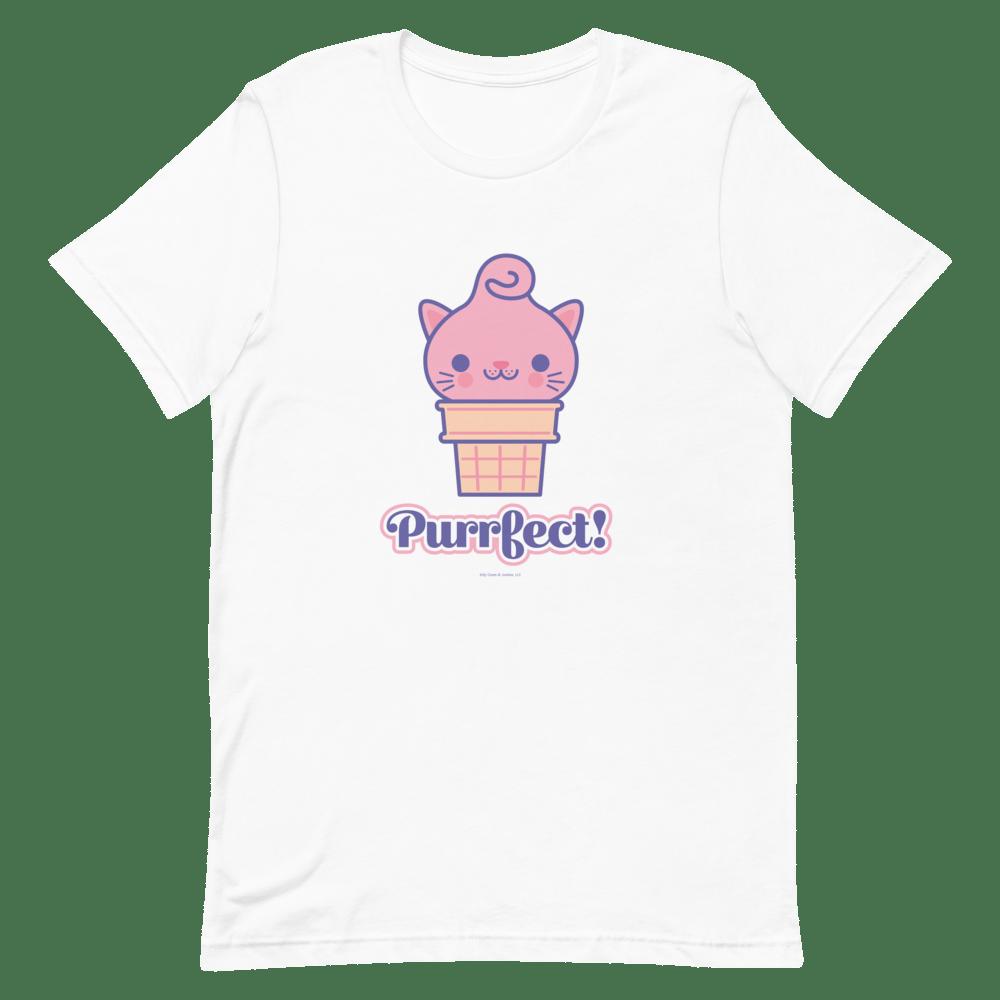 Image of Purrfect Short-Sleeve Unisex T-Shirt
