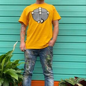 Image of New Everyman t-shirts (just yellow medium left)
