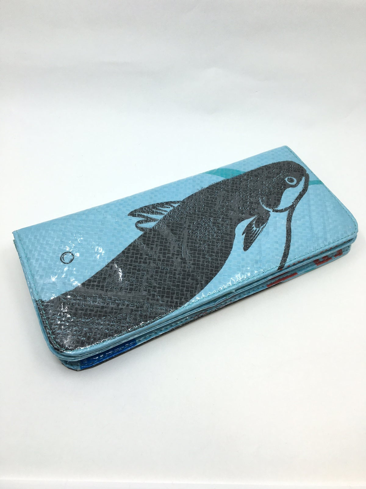Pink Recycled Wallet by Malia Designs